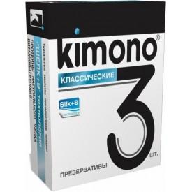 Классические презервативы KIMONO - 3 шт.